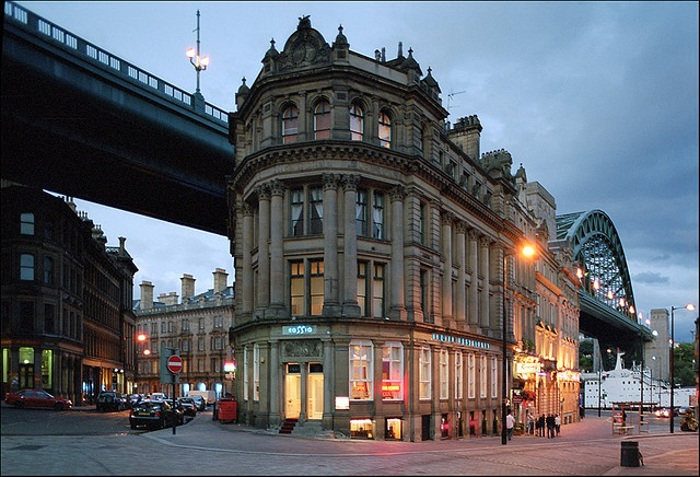 Newcastle-upon-Tyne... Weird that both of our grandfathers were born here... What are the chances of that?