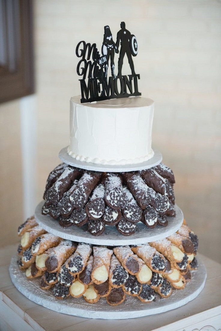 10 Wonderful Wedding Cake Ideas