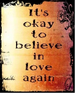 Gabby's belief in love.