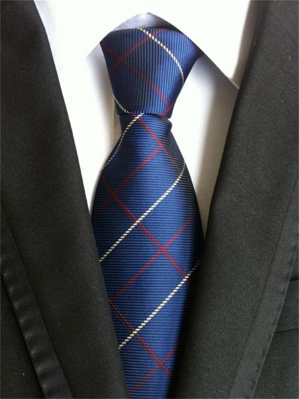 Business Jacquard Ties For Mens Neckties Floral Printed For Wedding Suit  Neckwear Wide Tie Cravats | Vintage suit men, Ties mens fashion, Plaid tie