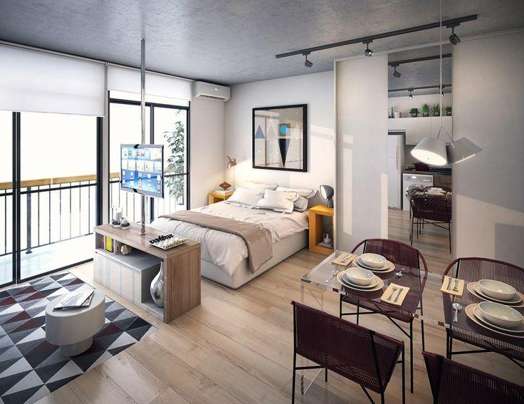 Интерьер однокомнатной квартиры: все тонкости современного дизайна и 80+ фото…