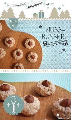 Omas leckere Nussbusserl weitere schnelle Plätzchen gibt es hier: http://www.gofeminin.de/kochen-backen/schnelle-plaetzchen-rezepte-d59747.html (German Sweet Recipes)