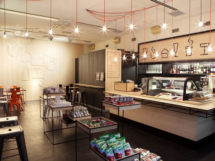 Aschan Deli interior design and branding by BOND, Helsinki