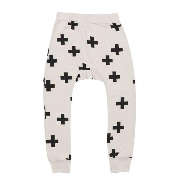 Beau Loves Davenport Pants, Grey, Crosses