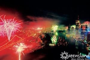 #RiverFire #Brisbane #celebrations #city #fireworks #amazing #TourismQueensland
