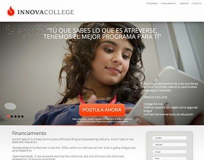 """Check out new work on my @Behance portfolio: """"Campaña admisión modalidad e-learning"""" http://on.be.net/1MiF9R9"""