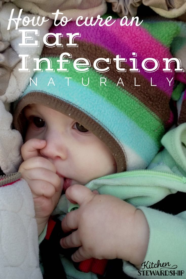 There's nothing worse than a sick little one. And the balance between natural remedies and a trip to the doctor is a struggle. Here are some suggestions the next time an ear infection shows up.
