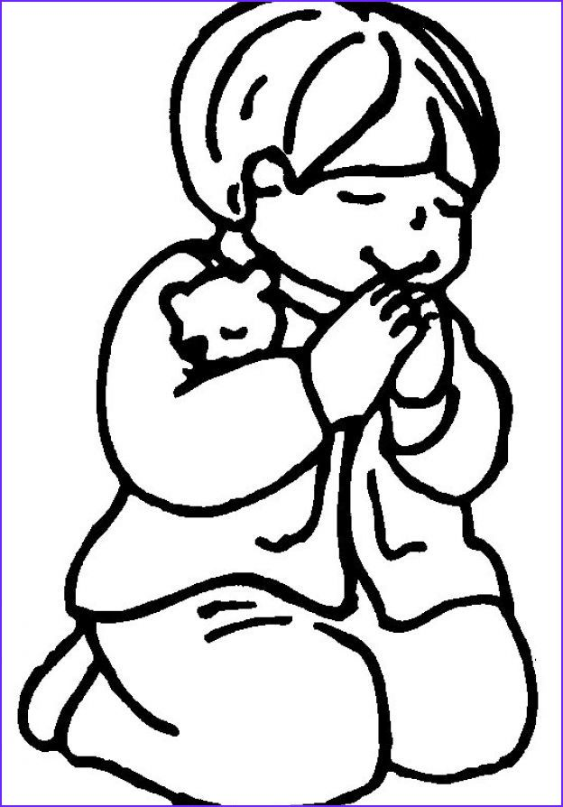 Praying Hands Coloring Page Kidzone Mount Olive Seventh Day