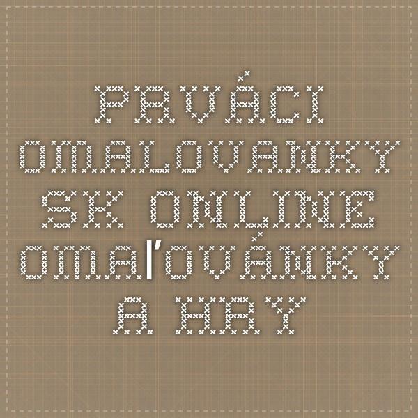 Prváci - Omalovanky.sk - Online omaľovánky a hry