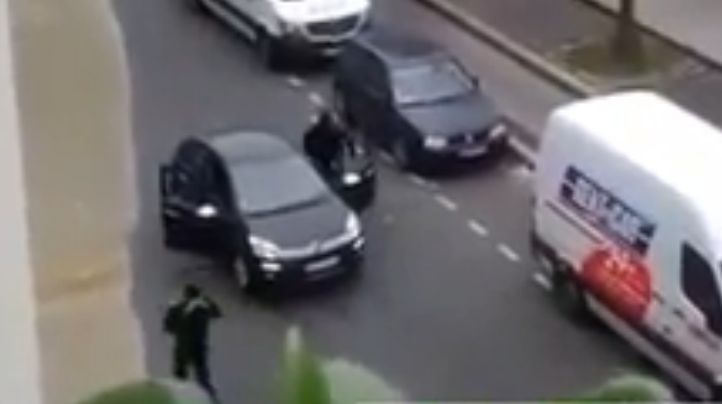 images of paris attacks   Raw Video Footage of the Paris France Attack and the Attackers   Daily ...