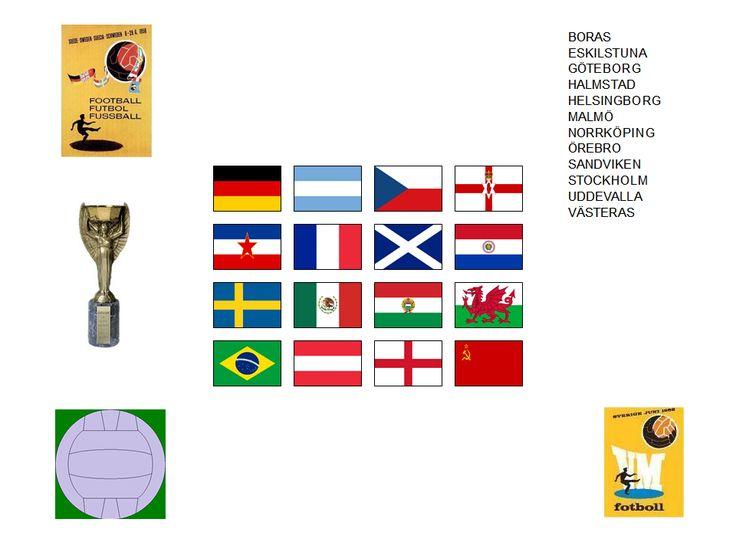 Världsmästerskapet i fotboll 1958 SVERIGE