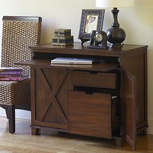 World Market Verona Cabinet Desk