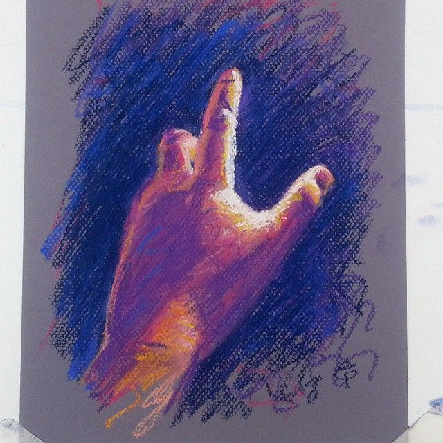 Hand number four by Liz Powley #100hands
