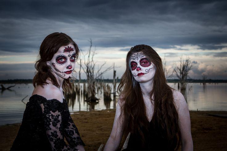 Dia de los Muertos - Full - Faces by Me! - Face Painting Dallas Plano Tx - Gallery
