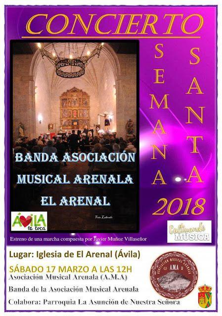 TietarTeVe en Gredos: 17 Marzo: Concierto de Semana Santa en El Arenal