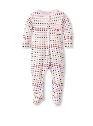 25% OFF Rumble Tumble Baby Elephant Longsleeve Coverall (White)