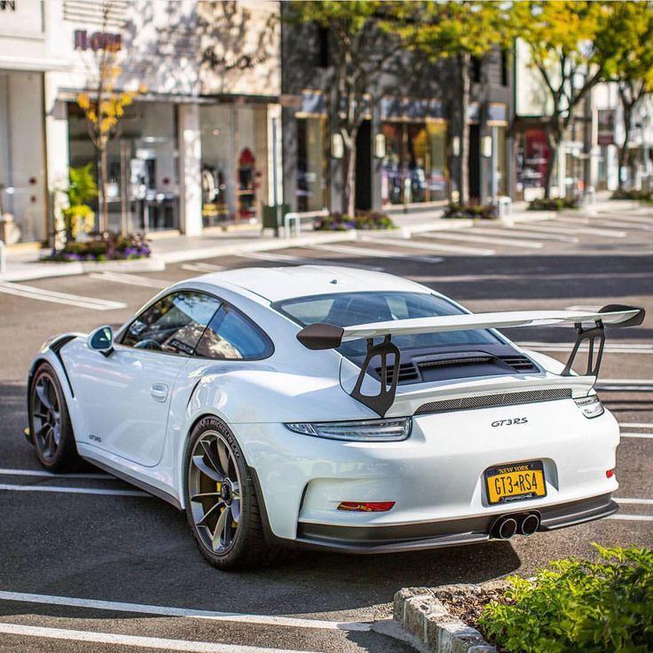 Porsche 911 White: Porsche 991 GT3 RS Painted In White Photo Taken By