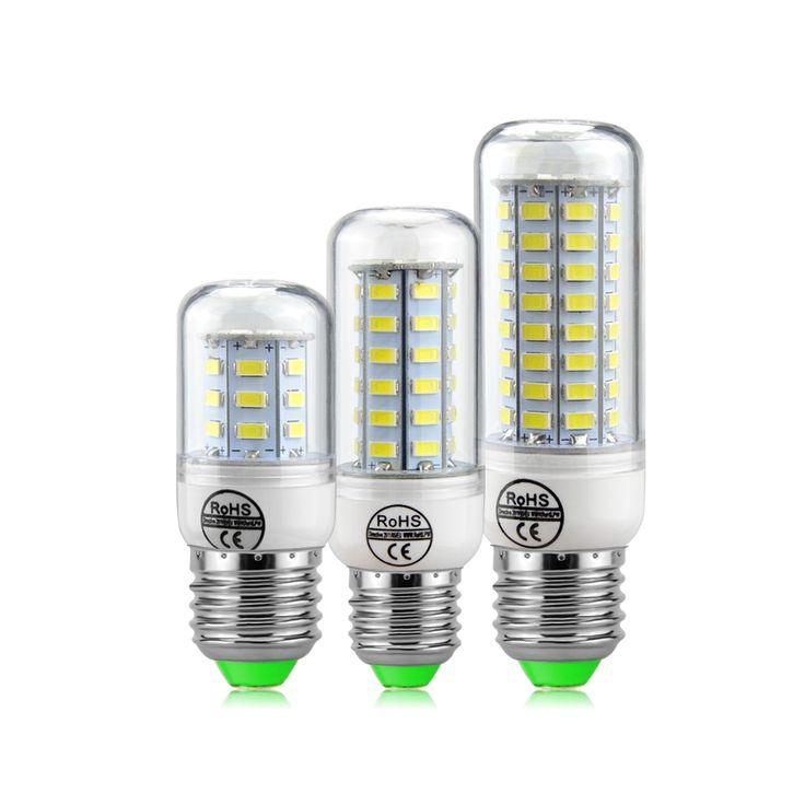 Free Shipping SMD 5730 Bombillas LED E27 220V 230V Lamps 24 36 48 56 69 LEDs No Flicker Lampada LED Corn Bulb Indoor lighting #Affiliate