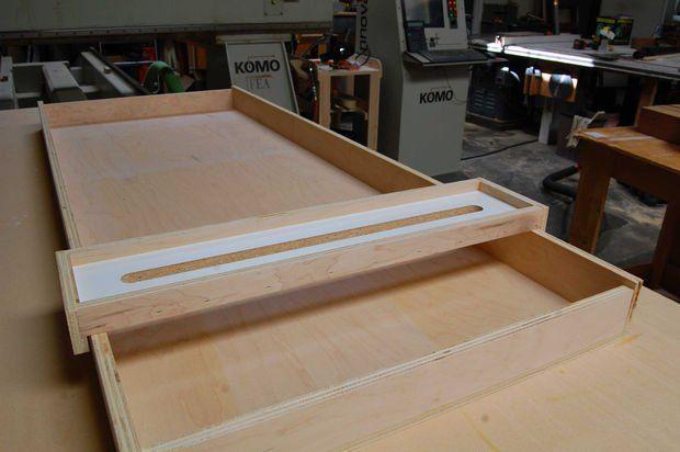Изображение плоскости ваши деревянные плиты с Строгальные Sled, что вы строите