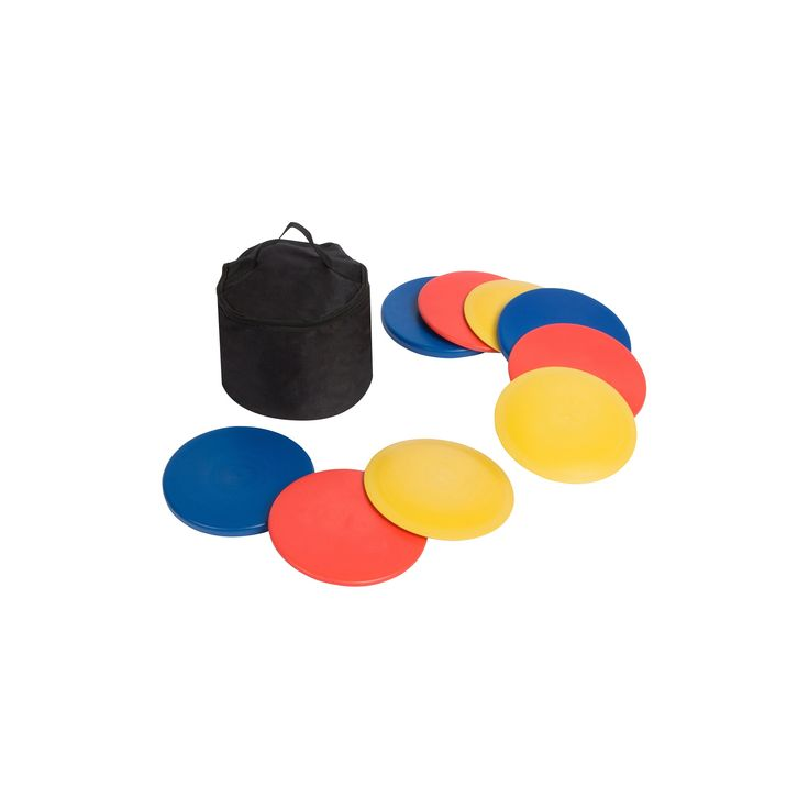 Trademark Innovations Disc Golf Set with Disc Golf Bag (Set of 9 Discs)