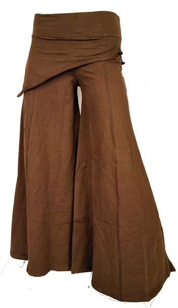 Skirted Boho Pants      I want to start making my own clothes im pretty sure