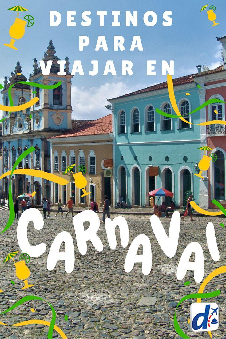 Descubrí cuáles son los mejores destinos de América Latina para vivir el #carnaval #trip #travel #viajes #latinoamerica