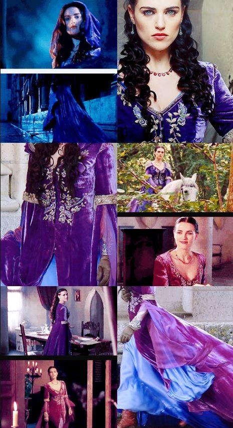 Morgana's Purple Dress - I WANT THIS SO BAD! I really want to make it one day! GAAHHH!