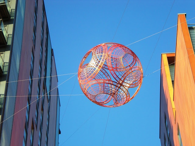 mancunian wave: Skywatch Friday: Skyline Central's spherical art