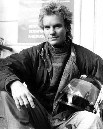 Sting: British rockstar, leader singer of The Police, Every Breath You Take, Roxanne, Desert Rose, Englishman in New York