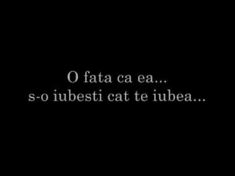 Directia 5 - O fata ca ea [with lyrics] - YouTube