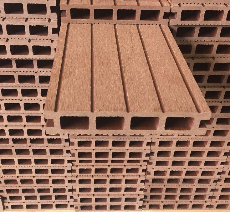 BROWN+4m+x+3m+DIY+COMPOSITE+DECKING+KIT, £518.00www.tradewpc.co.uk  #compositedecking #compositewooddecking #compositedeckinguk