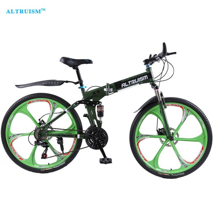 292.49$  Watch now - http://alicj4.worldwells.pw/go.php?t=32727525536 - Altruism X9 26 inch Bicycle Steel 24 Speed Double Shock Absorption Folding Mountain Bike Double Disc Bicycle Taga Bike Stroller