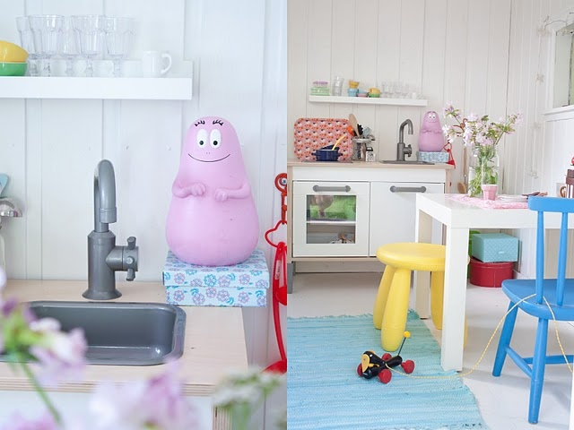 42 best images about barbapapa on pinterest toys 2nd for Playhouse kitchen ideas