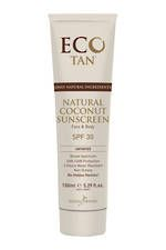 Eco Tan Natural Coconut Sunscreen SPF 30+  (Untinted)