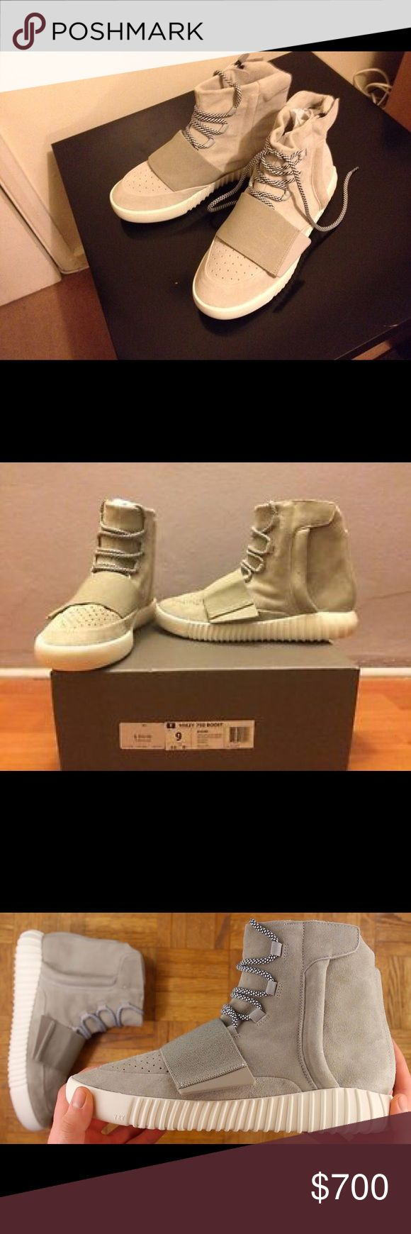 Brand new yeezy boost 350 grey size 9 These are brand new yeezy 750 size 9 from footlocker ONLY SELLING THROUGH 🅿️ay 🅿️al PRICE CAN BE NEGOTIATED! Yeezy Shoes Sneakers