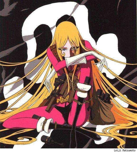 Captain Harlock's Kei Yuki by Leiji Matsumoto