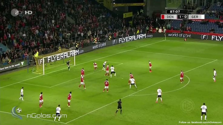 (www.nGolos.com) Denmark 1-1 Germany - Kimmich 88' (Bicycle Kick) - Streamable