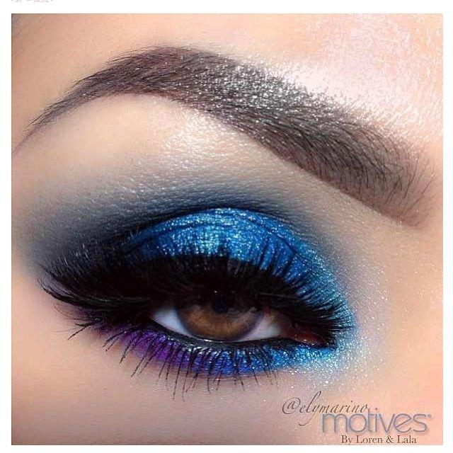 Best eyeshadow for blue eyes x ray