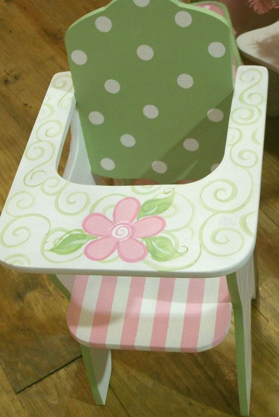 Hey, I found this really awesome Etsy listing at https://www.etsy.com/listing/173864840/custom-wooden-doll-high-chair-playroom