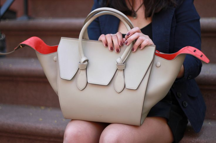 New York City\u0026#39;s street style. Celine Mini Tie bag. | Our Spring ...