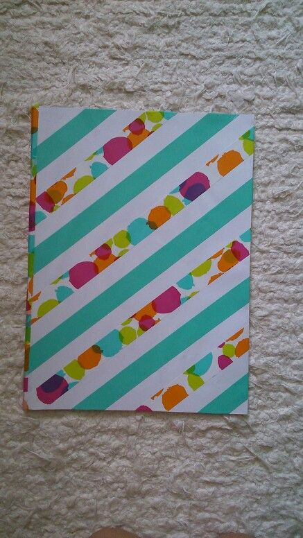 Whasi tapes notebook