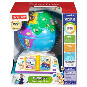 Prepare as your little one will have the whole world in their hands to take for a spin with this interactive globe. Pressing the seven animal buttons...