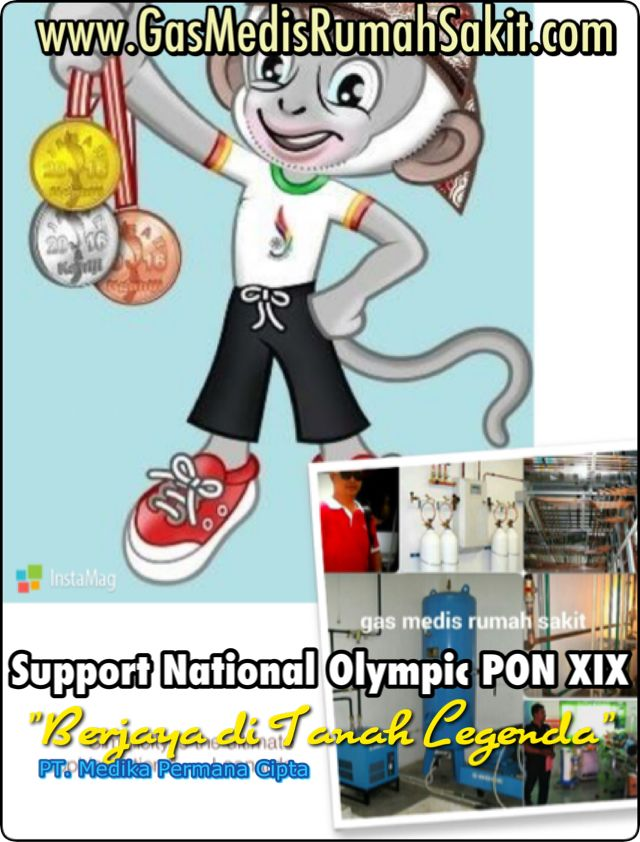 Gas Medis Support Indonesian Olympic