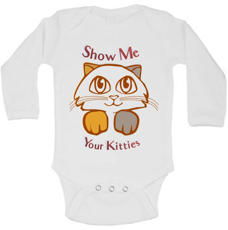 Show Me Your Kitties, Cat Baby Clothes, Cat Baby Shower, Cute Baby Clothes, Baby Girl Clothes, Baby Girl Outfit, Hipster Baby Clothes, Gift by AdelynRoseBoutique on Etsy
