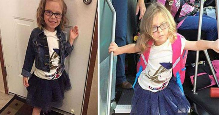 Ξεκαρδιστικές φωτογραφίες παιδιών πριν και μετά την πρώτη μέρα στο σχολείο Crazynews.gr