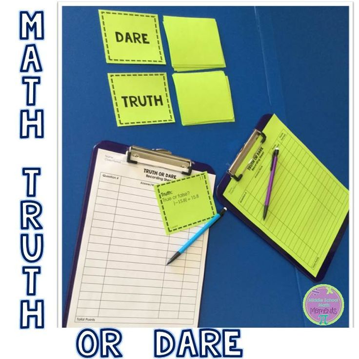 middle school girls truth or dare