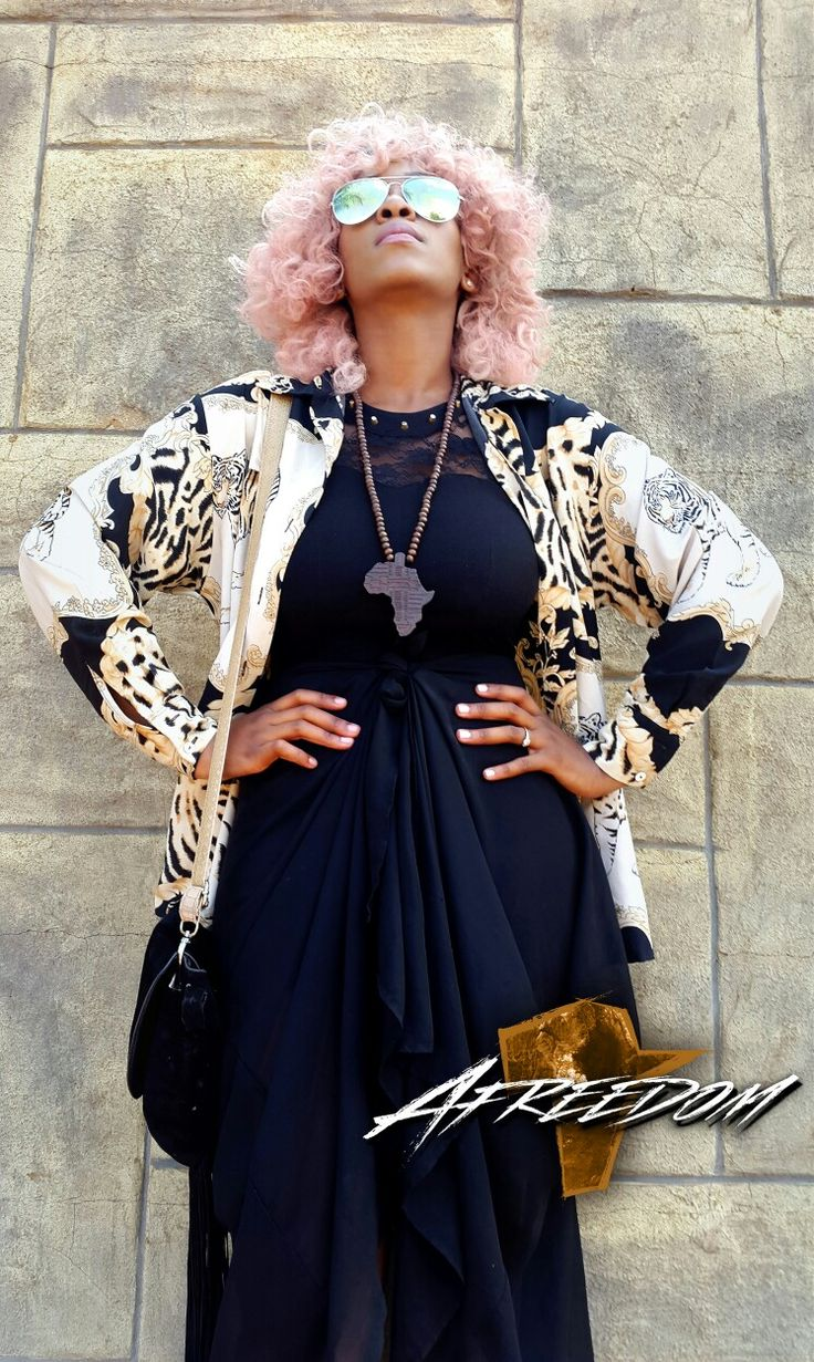Hair by Afreedom Fashions. #Afreedom #African #Hair #Pink #BlackGirl #Girl #Women #Fashion #Glasses #Afreedom
