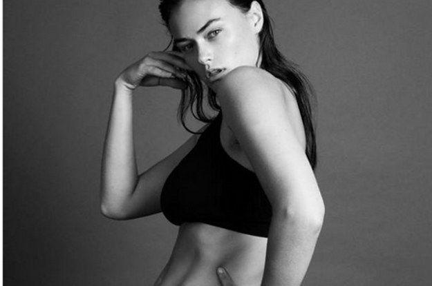 People Think Calvin Klein's New Size 10 Model Is Its Plus-Size Model #effingbiggots