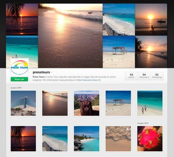 Segui il profilo instagram Press Tours clicca qui: http://instagram.com/presstours