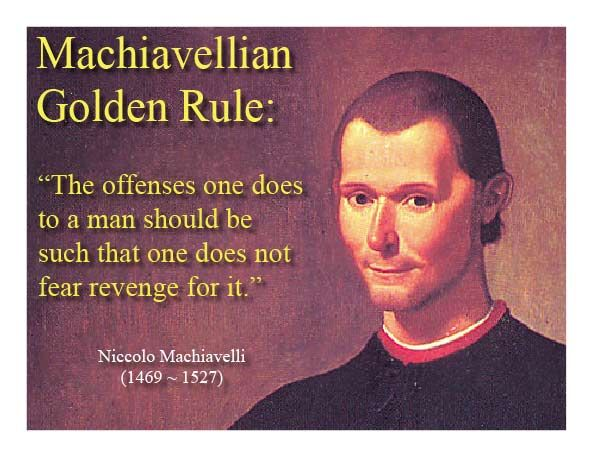 Image result for Machiavelli